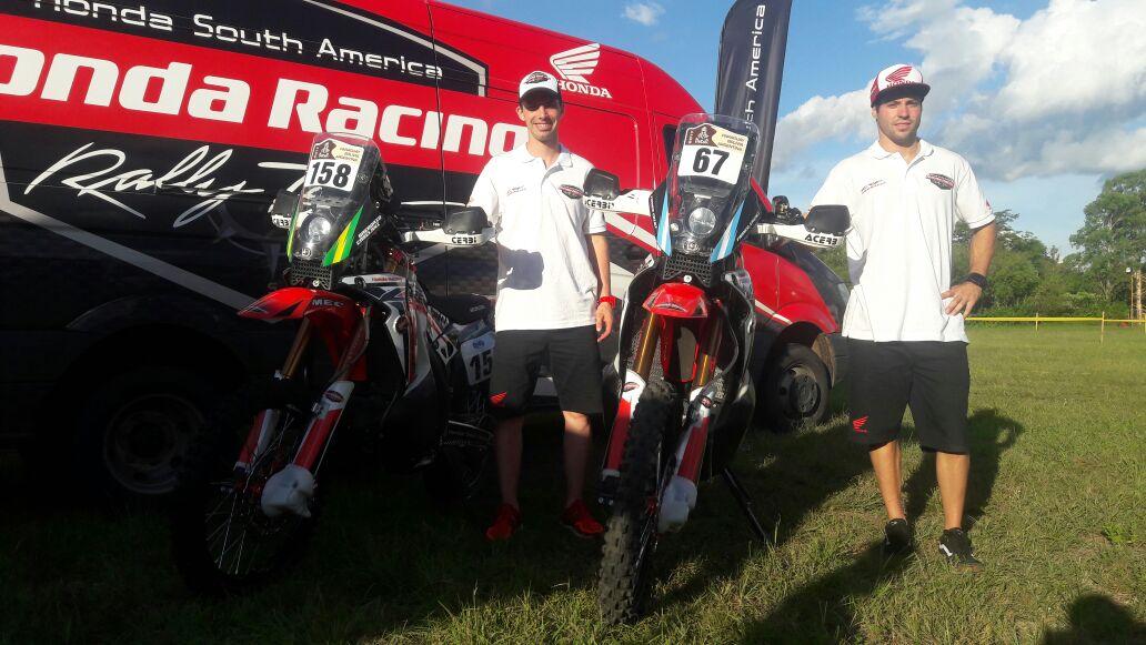 El Honda South America Rally Team presenta a sus pilotos para el Dakar 2017